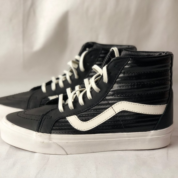 5570051ce0bb ... Moto Leather Black/White Shoes. NWT. Vans. M_5bb7e54495199659d2b29301.  M_5bb7e544aa8770f217b6263f. M_5bb7e5449519966b1db29302